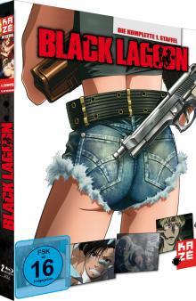 Black Lagoon - Staffel 1 (2 Discs) [EU Import mit dt. Ton] [Blu-ray]