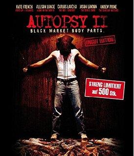 Autopsy 2 - Black market Body Parts (Uncut) (2009) [FSK 18] [Blu-ray]
