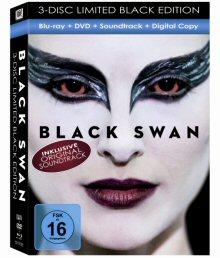 Black Swan (3 Disc Limited Black Edition, inkl. Soundtrack & Digital Copy) (2010) [Blu-ray]