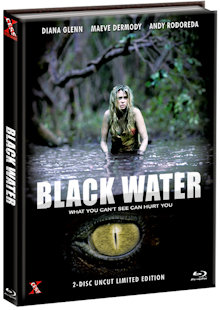 Black Water (Limited Mediabook, Blu-ray+DVD, Cover A) (2007) [Blu-ray]