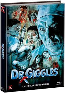 Dr. Giggles (Limited Mediabook, Blu-ray+DVD, Cover B) (1992) [FSK 18] [Blu-ray] [Gebraucht - Zustand (Sehr Gut)]