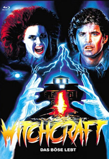 Witchcraft - Das Böse lebt (Limited Mediabook, Blu-ray+DVD, Cover C) (1988) [FSK 18] [Blu-ray]