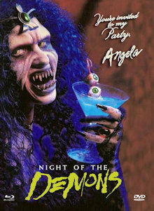 Night of the Demons (Limited Mediabook, Blu-ray+DVD, Cover E) (1988) [FSK 18] [Blu-ray]