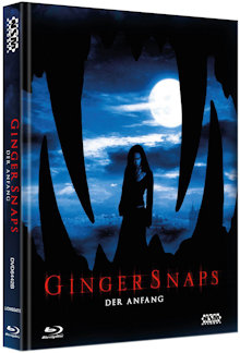 Ginger Snaps 3 - Der Anfang (Limited Mediabook, Blu-ray+DVD, Cover B) (2004) [Blu-ray]