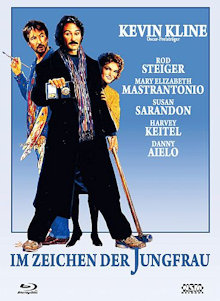 Im Zeichen der Jungfrau (Limited Mediabook, Blu-ray+DVD, Cover C) (1989) [Blu-ray]