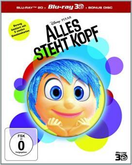 Alles steht Kopf (3 Discs, 3D Blu-ray+2 Blu-ray's) (2015) [3D Blu-ray]