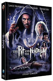 The Pit and the Pendulum - Meister des Grauens (Limited Mediabook, Blu-ray+CD, Cover B) (1991) [FSK 18] [Blu-ray]