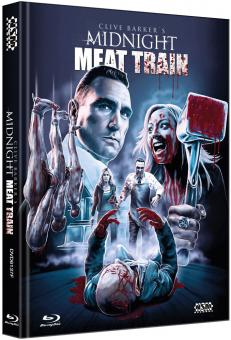 Midnight Meat Train (Unrated Director's Cut, Mediabook, DVD+Blu-ray, Cover F) (2008) [FSK 18] [Blu-ray]