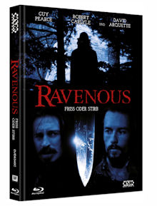 Ravenous - Friss oder stirb (Limited Mediabook, Blu-ray+DVD, Cover C) (1999) [FSK 18] [Blu-ray]