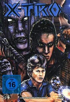 X-Tro - Nicht alle Außerirdischen sind freundlich (Limited Mediabook, Blu-ray+DVD+CD-Soundtrack, Cover H) (1982) [Blu-ray]