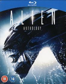 Alien Anthology (4 Discs) [UK Import mit dt. Ton] [Blu-ray]