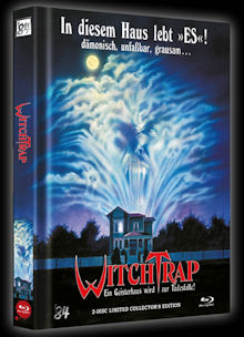 Witchtrap (2 Disc Limited Mediabook, Blu-ray+DVD, Cover B) (1989) [FSK 18] [Blu-ray]