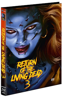 Return of the Living Dead 3 (Limited Mediabook, Blu-ray+2 DVDs, Cover C) (1993) [FSK 18] [Blu-ray]