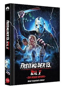 Freitag der 13. Teil 5 (Limited Collector's Edition Mediabook, Cover D) (1985) [Blu-ray]