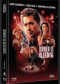 Romeo Is Bleeding (Limited Mediabook, Blu-ray+DVD, Cover B) (1993) [FSK 18] [Blu-ray]