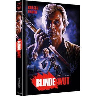 Blinde Wut (Limited Mediabook, Blu-ray+DVD, Cover A) (1989) [FSK 18] [Blu-ray]