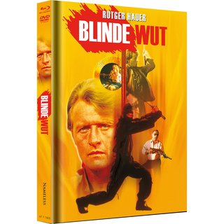 Blinde Wut (Limited Mediabook, Blu-ray+DVD, Cover B) (1989) [FSK 18] [Blu-ray]