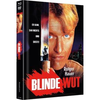 Blinde Wut (Limited Mediabook, Blu-ray+DVD, Cover E) (1989) [FSK 18] [Blu-ray]