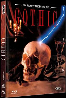 Gothic (Limited Mediabook, Blu-ray+DVD, Cover E) (1986) [Blu-ray]