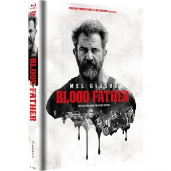 Blood Father (Limited Mediabook, Blu-ray+DVD, Cover A) (2016) [Blu-ray]