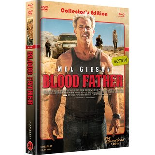 Blood Father (Limited Mediabook, Blu-ray+DVD, Cover C) (2016) [Blu-ray]