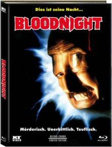 Bloodnight (Limited Mediabook, Blu-ray+DVD, Cover A) (1989) [FSK 18] [Blu-ray]