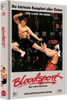 Bloodsport - Eine wahre Geschichte (Limited Mediabook Edition, Blu-ray+DVD, Cover C) (1988) [FSK 18] [Blu-ray]