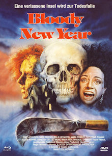 Bloody New Year (Limited Mediabook, Blu-ray+DVD, Cover A) (1987) [FSK 18] [Blu-ray]