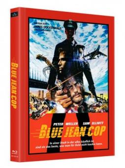 Blue Jean Cop (Limited Mediabook, Cover C) (1988) [Blu-ray]