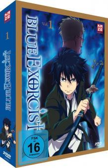 Blue Exorcist - Box Vol. 1 (2 DVDs) (Limited Edition) [Gebraucht - Zustand (Sehr Gut)]