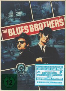 Blues Brothers (Limited Extended Deluxe Edition, 3 Blu-ray's + 1 DVD) (1980) [Blu-ray]
