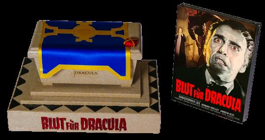 Blut für Dracula (Limited Sarg Edition, inkl. Mediabook) (1966) [Blu-ray]