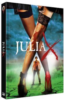 Julia X (Limited Mediabook, Ungekürzte Fassung, 2D/3D Blu-ray+DVD, Cover B) (2010) [FSK 18] [3D Blu-ray]
