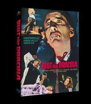 Blut für Dracula (Limited Mediabook, Cover C) (1966) [Blu-ray]