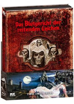 Blutgericht der reitenden Leichen (Limited Wattiertes Mediabook, Blu-ray+DVD) (1975) [FSK 18] [Blu-ray]