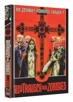 Die Rebellion der lebenden Leichen (Blutrausch der Zombies) (Limited Mediabook, Blu-ray+DVD) (1972) [FSK 18] [Blu-ray]
