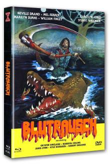 Eaten Alive - Blutrausch (Limited Mediabook, Blu-ray+DVD, Cover B) (1977) [FSK 18] [Blu-ray]