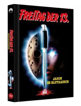 Freitag der 13. Teil 7 - Jason im Blutrausch (Limited Mediabook, Cover B) (1988) [FSK 18] [Blu-ray]