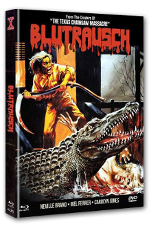 Eaten Alive - Blutrausch (Limited Mediabook, Blu-ray+DVD, Cover A) (1977) [FSK 18] [Blu-ray]