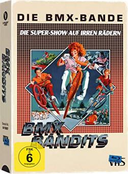 Die BMX-Bande (Limited Edition im VHS Design) (1983) [Blu-ray]