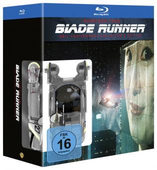 Blade Runner - 30th Anniversary Collector's Edition (3 Discs, Steelbook) (1982) [Blu-ray]