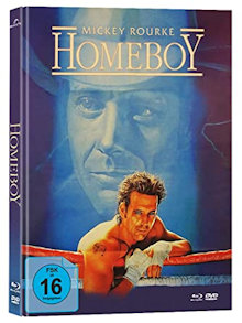 Homeboy (Limited Mediabook, Blu-ray+DVD, Cover B) (1988) [Blu-ray]