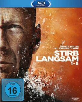 Stirb Langsam 1-5 (5 Discs) [Blu-ray]