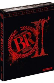 Battle Royale 2 (Limited Mediabook, Blu-ray+DVD, Cover A, inkl. längerem 152min Revenge Cut) (2003) [FSK 18] [Blu-ray]