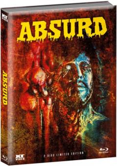 Absurd (Limited Wattiertes Mediabook, Blu-ray+DVD) (1981) [FSK 18] [Blu-ray]