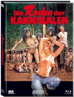 Cannibal Ferox - Die Rache der Kannibalen (Limited Mediabook, Blu-ray+DVD, Cover A) (1981) [FSK 18] [Blu-ray]