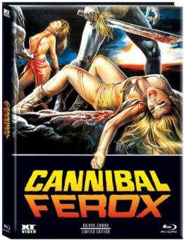 Cannibal Ferox - Die Rache der Kannibalen (Limited Mediabook, Blu-ray+DVD, Cover B) (1981) [FSK 18] [Blu-ray]