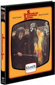 Die Stunde der grausamen Leichen (Limited Mediabook, Blu-ray+DVD, Cover C) (1973) [FSK 18] [Blu-ray]