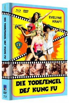 Die Todesengel des Kung Fu (Limited Mediabook, Blu-ray+DVD, Cover A) (1977) [FSK 18] [Blu-ray]
