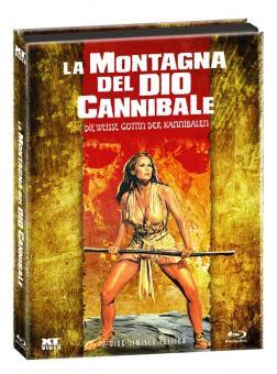 Die Weiße Göttin der Kannibalen (Limited Wattiertes Mediabook, Blu-ray+DVD) (1977) [FSK 18] [Blu-ray]